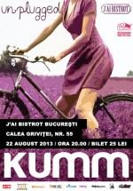 Concert KUMM unplugged în J'ai Bistrot din Bucureşti