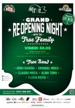 Grand Reopening Night în True Club din Bucureşti