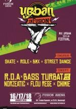 Urban inFusion Fest 2013 la Fusion Arena din Bucureşti
