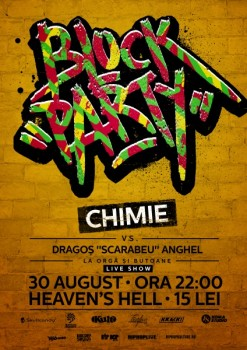 Block Party cu Chimie în Club Heaven's Hell din Constanţa
