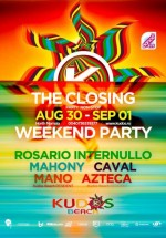 The Closing Weekend Party la Kudos Beach din Mamaia