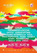 Oxia şi Federico Locchi la Kudos Beach din Mamaia