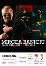 Concert Mircea Baniciu la Teatru de Vară din Jupiter