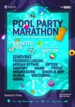 Pool Party Marathon la Barletto Club din Bucureşti