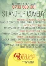 Stand-Up Comedy & Improvizaţie – august 2013 în Club 99 din Bucureşti