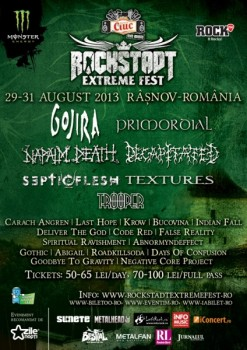 Rockstadt Extreme Fest 2013 la Râşnov