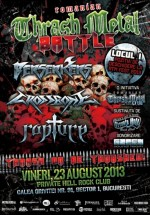 Romanian Trash Metal Battle în Private Hell Club din Bucureşti