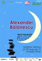 Concert unplugged Alexander Bălănescu la Grădina Verona-Cărtureşti din Bucureşti