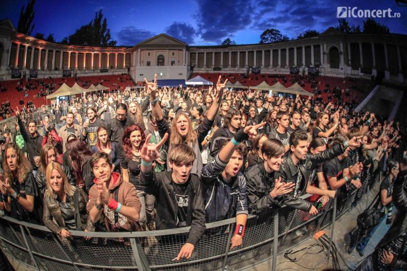 Fanii veniţi la Metalhead Meeting 2013 - Foto: Paul Voicu / iConcert.ro