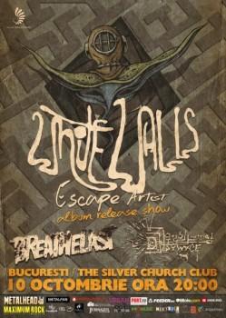 """Concert White Walls – lansare """"Escape Artist"""" în The Silver Church din Bucureşti"""