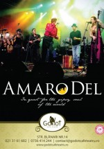 Concert Amaro Del în Godot Cafe-Teatru din Bucureşti