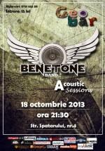 Concert acoustic Benetone Band în Geobar din Bucureşti