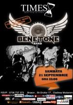 Concert Benetone Band în Times Pub din Braşov