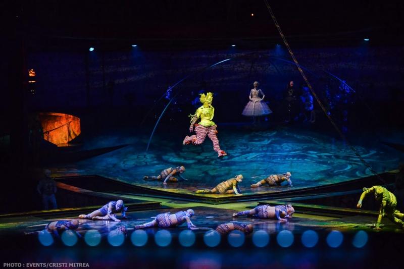 Power Track - Cirque du Soleil - Foto: Cristi Mitrea / Events