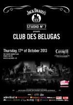 Concert Club de Belugas în The Silver Church din Bucureşti