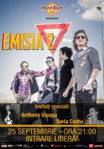 Concert Emisia 2 în Hard Rock Cafe din Bucureşti