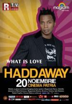 Concert Haddaway la Cinema Patria din Bucureşti – ANULAT