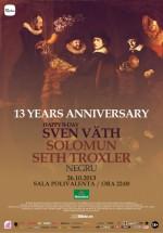 The Mission 13 Years Anniversary la Sala Polivalentă din Bucureşti