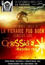 Concert LIVE Crosside în La Fierărie din Suceava