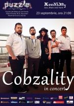 Concert Cobzality în Club Puzzle din Bucureşti