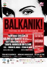 Balkanik Festival 2013 în Grădina Uranus din Bucureşti