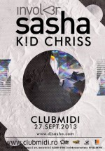 Sasha în Club Midi din Cluj-Napoca
