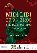 Concert Midi Lidi în Control Club din Bucureşti