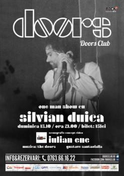 Spectacol-teatru cu Silvian Duica în Club Doors din Constanţa