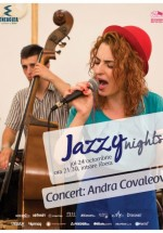 Concert Andra Covaleov în Energiea din Bucureşti