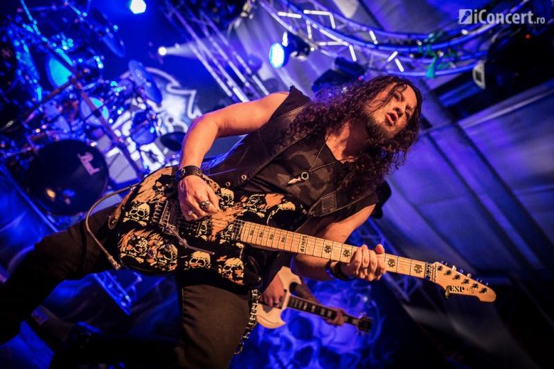 Michael Wilton, chitarist Queensryche - Foto: Paul Voicu / iConcert.ro