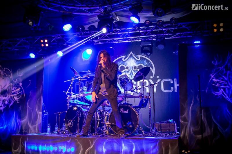 Todd La Tore, solistul Queensryche – Foto: Paul Voicu / iConcert.ro