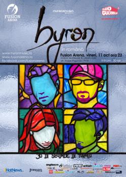 Concert byron la Fusion Arena din Bucureşti (CONCURS)