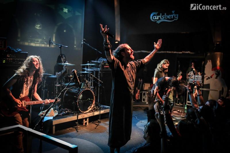 Orphaned Land în concert la The Silver Church - Foto: Paul Voicu / iConcert.ro