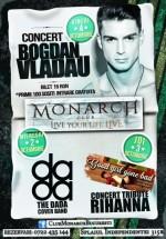 Concert Bogdan Vlădău în Monarch Club din Bucureşti