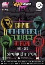 Concert Chimie, AFO & Dan Basu, Flou Rege şi DJ Al*bu în Colectiv din Bucureşti