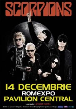 """Concert Scorpions – """"Rock'n'Roll Forever"""" la Romexpo în Bucureşti"""