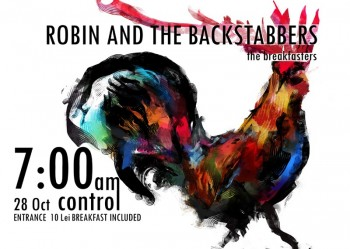 Concert Robin and the Backstabbers – Breakfast LIVE Show în Control Club din Bucureşti