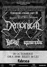 Concert Demonical în Club Fabrica din Bucureşti