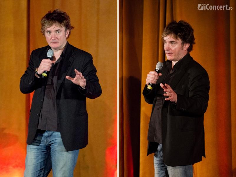 Dylan Moran la Bucureşti - Foto: Eduard Breaban şi Alex Chelba