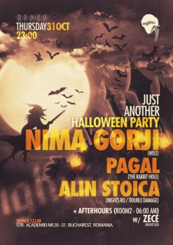 Just Another Halloween Party în Space Club din Bucureşti