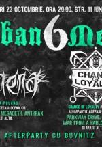 Concerte Materia şi Change of Loyalty în Club B52 din Bucureşti