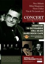 Concert umanitar pentru Odette în Hard Rock Cafe din Bucureşti