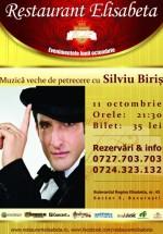 Concert Silviu Biriş la Restaurant Elisabeta din Bucureşti