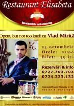 Concert Vlad Miriţă la Restaurant Elisabeta din Bucureşti