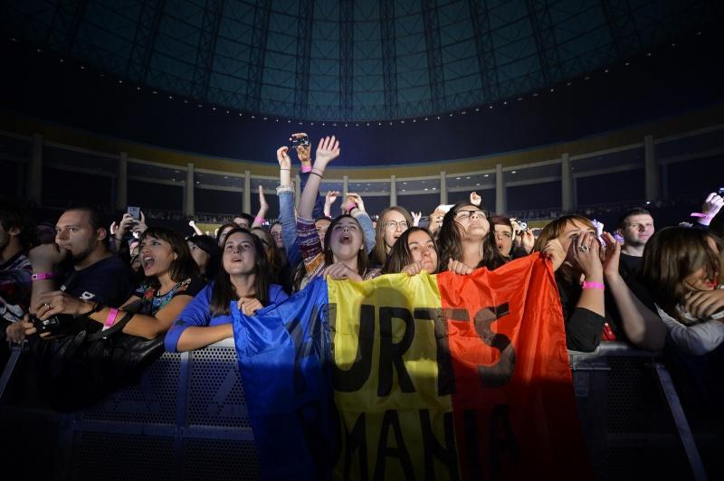 Fanii Hurts din primul rând - Foto: Răzvan Chiriţă