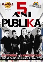 Concert aniversar Publika în Hard Rock Cafe din Bucureşti
