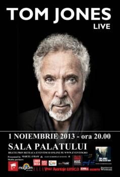 Concert Tom Jones la Sala Palatului din Bucureşti