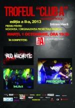 Concerte Red Magnetic, Predicator şi Int.Act în Club A din Bucureşti
