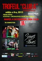 Concerte Truverii, NewAge şi Sticks N' Stones în Club A din Bucureşti
