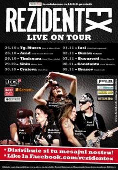 Turneu naţional Rezident EX – Live on Tour